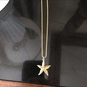 Christian Dior starfish Necklace